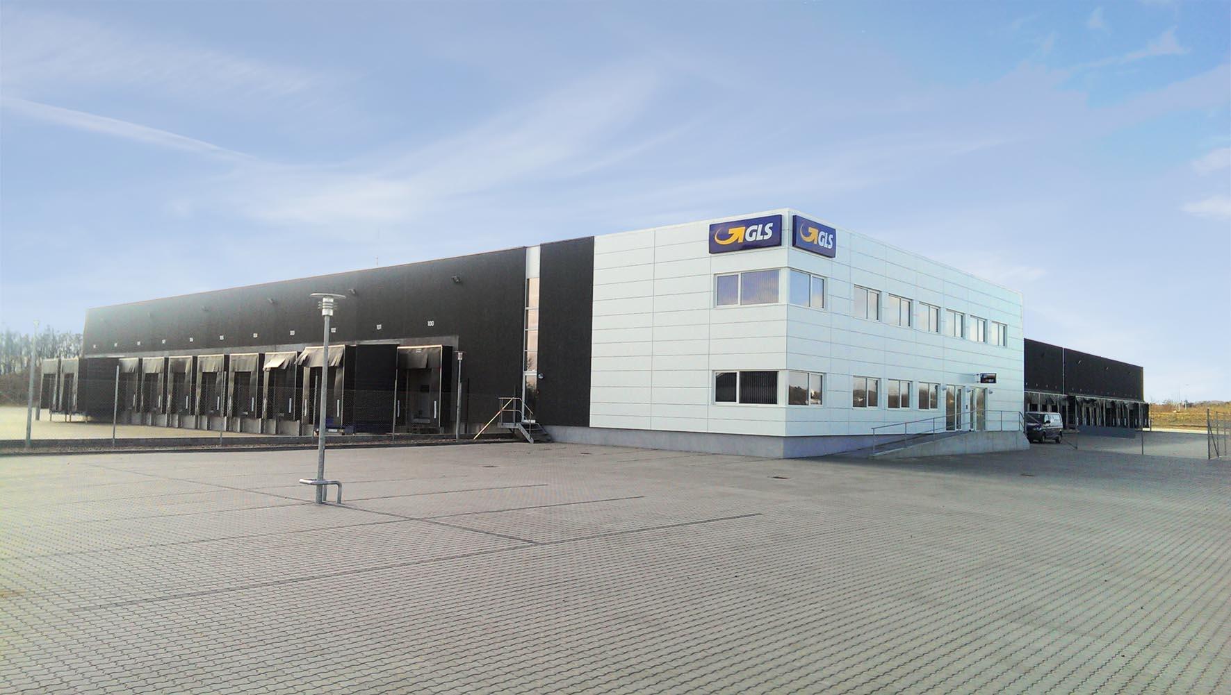 Gls Bner Nyt Depot I Aalborg Transportmagasinet