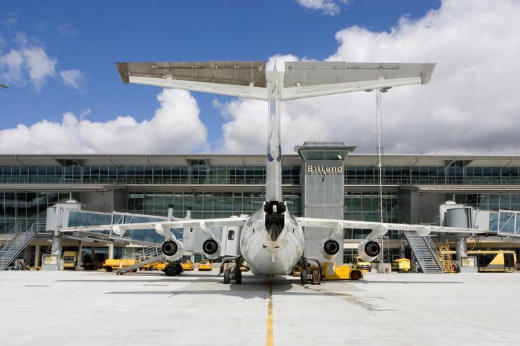 Færre Ryanair-passagerer presser Billund Lufthavn - Transportmagasinet